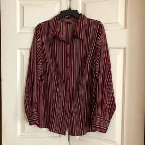 East 5th striped button down Blouse